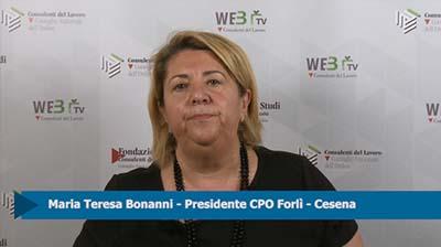Intervista a Maria Teresa Bonanni, Presidente CPO Forlì-Cesena