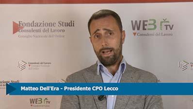 Intervista a Matteo Dell'Era, Presidente CPO Lecco
