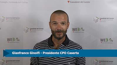 Intervista a Gianfranco Ginolfi, Presidente CPO Caserta