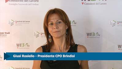 Intervista a Giusi Rosiello, Presidente CPO Brindisi
