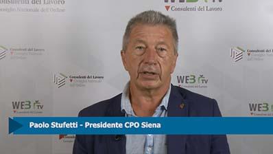 Intervista a Paolo Stufetti, Presidente CPO Siena