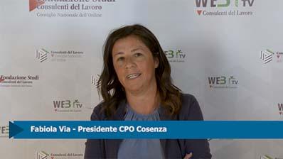 Intervista a Fabiola Via, Presidente CPO Cosenza
