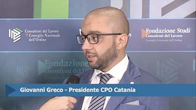 Intervista a Giovanni Greco, Presidente CPO Catania