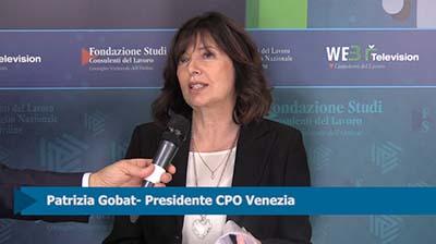Intervista a Patrizia Gabat, Presidente CPO Venezia