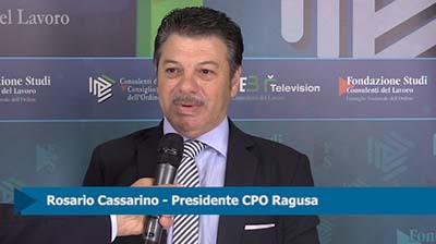 Intervista a Rosario Cassarino, Presidente CPO Ragusa