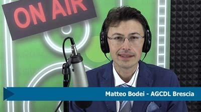 Matteo Bodei. Ricovero ospedaliero