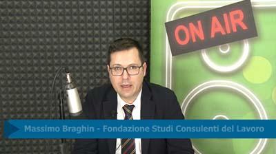 Massimo Braghin. Note di rettifica INPS