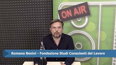 Romano Benini. Contratto a termine