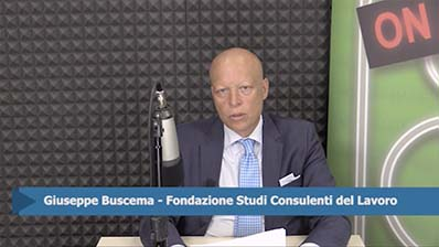 Giuseppe Buscema. Incentivo occupazione Sud