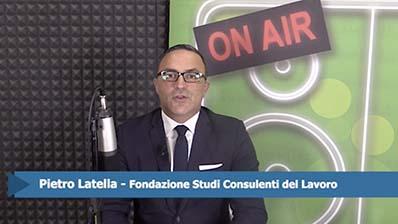 Pietro Latella. Assegni nucleo familiare