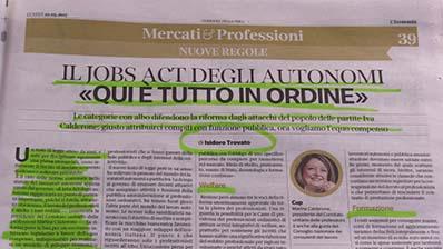 Rassegna Stampa - 22.05.2017