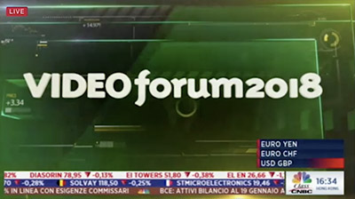 Italia Oggi Video Forum 2018, S. Giorgini