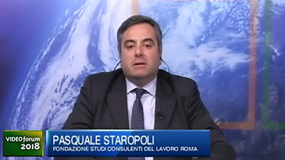 Italia Oggi Video Forum 2018, P. Staropoli