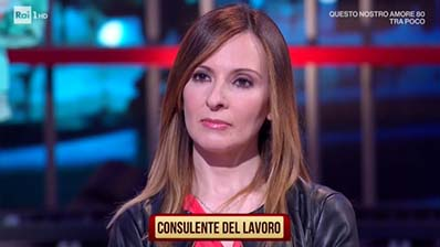 Rai1. I soliti ignoti, 01.04.2018. Manuela Sanna (CPO Cagliari)