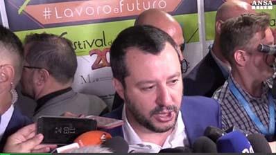 Ansa del 29.06.2018 - Salvini