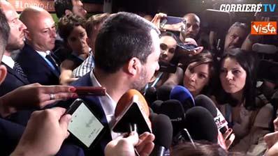 """Corriere TV del 29.06.2018 - Migranti, Salvini: """"Finché non vedo non credo, più volte l'Europa ci ha"""