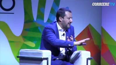 Corriere TV del 29.06.2018 - Salvini ironico: «Balotelli e Corona? Chi mi contesta è di un certo spe