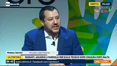 RaiNews 24 edizione delle 09.30 del 29.06.2018
