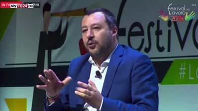 Sky Tg24 del 29.06.2018 - Matteo Salvini