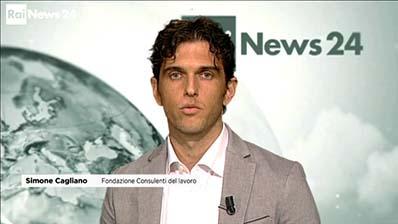 Rai News - Focus24, 01.07.2018 - Simone Cagliano