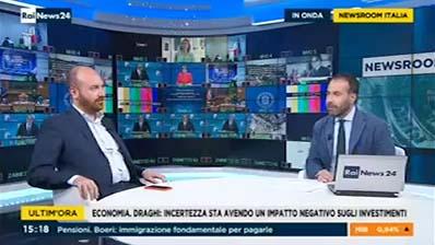 Rai News News Room Italia delle 15.18 del 29.06.2018