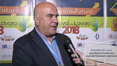 Manageritalia al Festival del Lavoro 2018 - Rosario De Luca
