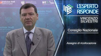 Vincenzo Silvestri. L'assegno di ricollocazione