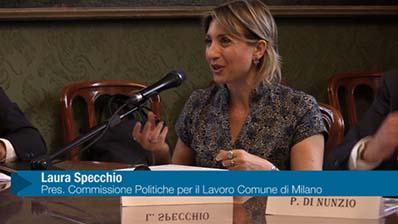 Conferenza Stampa Festival del Lavoro - Intervista a L. Specchio