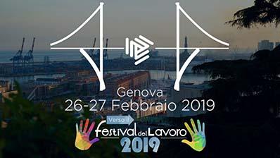 Verso il Festival del Lavoro 2019 - Genova