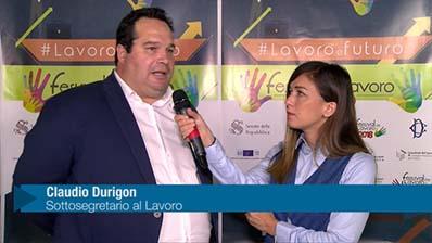 Durigon: Giovani e valore della rappresentanza