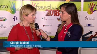 Meloni: Detassare il lavoro giovanile e aiutare il marchio italiano
