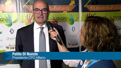 Di Nunzio: Milano punto d'incontro tra lavoro e futuro