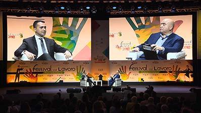 30.06 - A colloquio con Luigi Di Maio, Min. del Lavoro e dello Sviluppo Economico