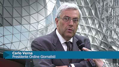 Carlo Verna, Presidente Ordine Giornalisti