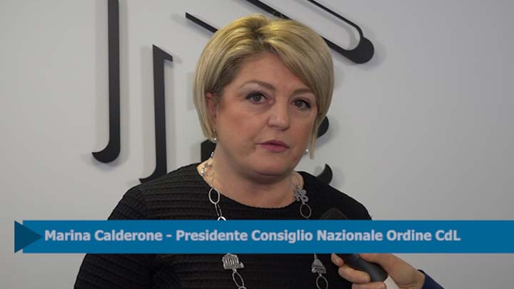 Intesa CNO-INL. Intervista a Marina Calderone