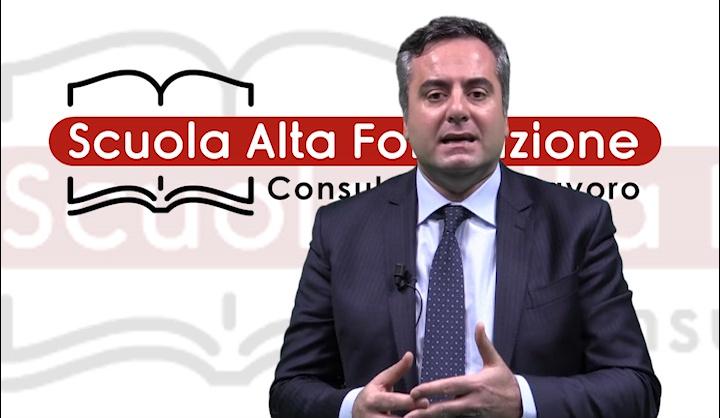 Pasquale Staropoli. Presentazione Nuovi Corsi SAF