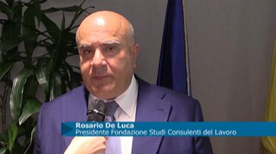 Intesa Istituto Nazionale Revisori Legali - Fondazione Studi: Intervista a De Luca