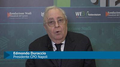 Mezzogiorno e lavoro: le proposte dei CdL di Napoli. Intervista al Presidente E. Duraccio