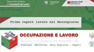 Occupazione e Lavoro: il ruolo e le proposte dei CdL di Napoli.