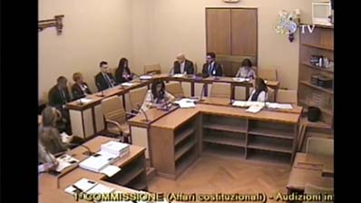 Codice terzo settore, audizione del CNO in Senato