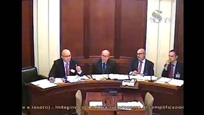 Semplificazione sistema tributario, CNO in audizione al Senato