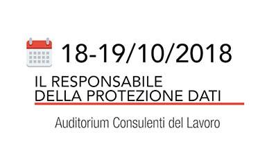 Il responsabile della protezione dati - Corso SAF