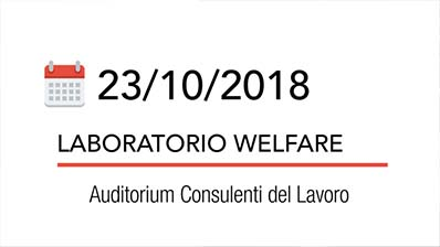 Focus - Laboratorio Welfare, Corso SAF