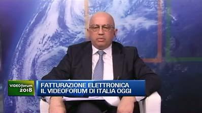 Videoforum Italia Oggi - Sergio Giorgini su Fattura Elettronica
