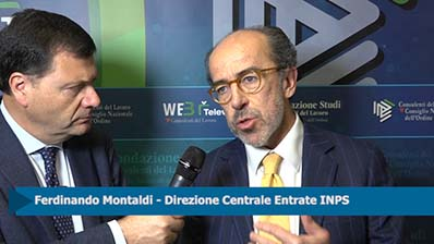 Forum Lavoro - Intervista a Ferdinando Montaldi, INPS