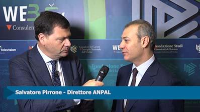 Forum Lavoro - Intervista a Salvatore Pirrone, Direttore ANPAL