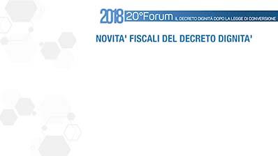 Novità fiscali