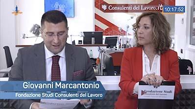 Risposte ai quesiti di Lavoro con Giovanni Marcantonio