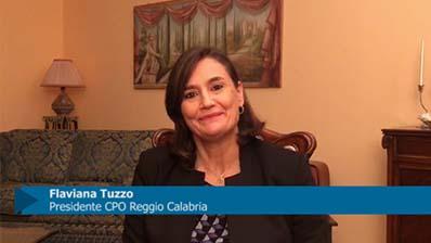 Intervista a Flaviana Tuzzo, Presidente CPO Reggio Calabria