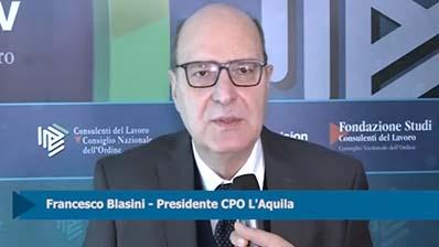 Intervista a Francesco Blasini - Presidente CPO L'Aquila